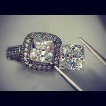 Custom diamond setting