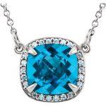diamond pendants and other precious stones